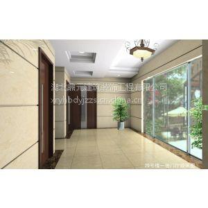 供应湖北门厅设计装修,案例:江夏美林公寓,普通住宅公建部分装饰装修