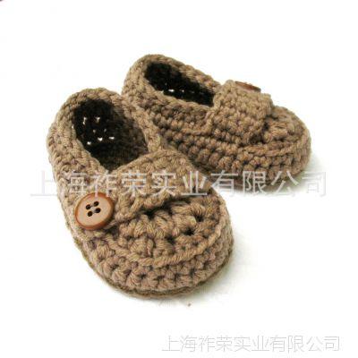 [厂家直销]婴儿毛线鞋 毛线编织婴儿鞋 针织毛线童鞋 手工婴儿鞋