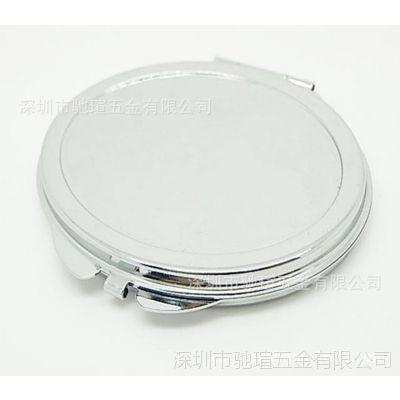 椭圆形化妆镜 简易蛋形小镜子 广告促销礼品镜 印刷滴胶双面镜