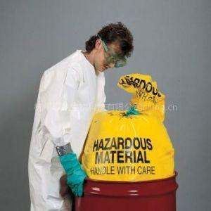 供应newpig酸碱性化学品垃圾袋 化学品处理袋 防化垃圾袋BAG201