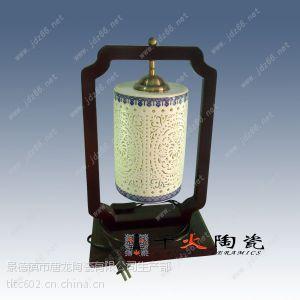 陶瓷台灯吊灯家居装饰酒店照明灯具生产厂家