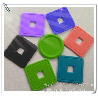 YF0727开模定做硅胶礼品时尚环保硅胶杯垫