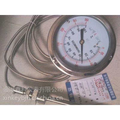 供应WTQ压力式温度计 不锈钢压力温度计 远传压力温度计