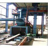 供应TQ698H型钢通过式抛丸清理机,配件抛丸器及叶片。