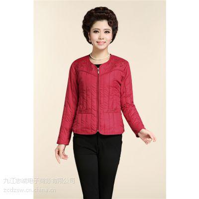 供应厂家直销2014年冬季热销中老年女式羽绒服内胆
