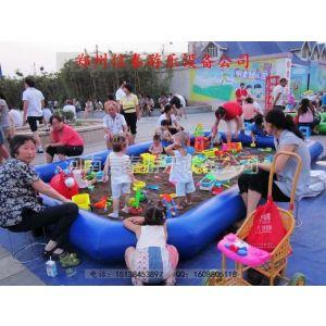 供应厦门小孩钓鱼池,广东广场摸鱼池,浙江儿童充气沙池