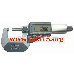 供应数显千分尺/数显外径千分尺(国产) 型号:CLH12-211(0-25mm)库号:M284497