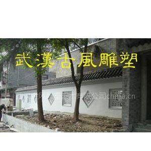 供应水泥制品,武汉构件窗花,水泥围墙窗花