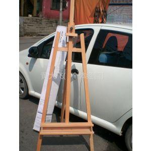 供应北京批发红榉木画架大型油画创作画架写生画架