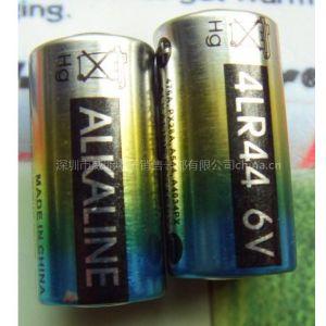 厂家直销4LR44组合柱式电池