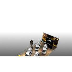供应2012大连国际汽车展-桁架展台设计搭建