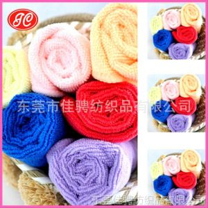 供应厂家专业生产超细纤维毛巾 竹纤维毛巾 吸水毛巾