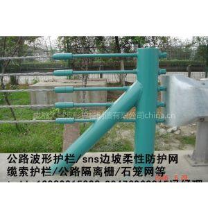 供应石棉广元甘孜州公路防撞热镀锌钢丝绳柔性缆索护栏