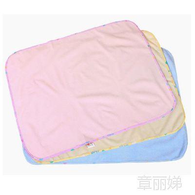 蒂乐婴儿隔尿用品 PU防水竹纤维隔尿垫 隔尿垫巾32*45cm小号