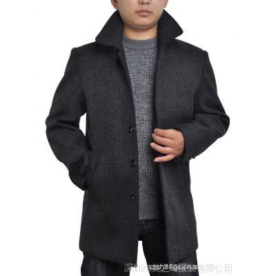 厂家直销2013新款秋冬男式大衣 保安加厚长款棉衣 保暖羽绒服