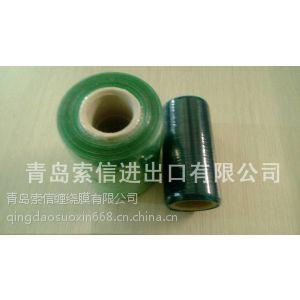 供应机用小管芯 6、7、8、10cmPVC缠绕膜 透明无晶点 山东厂家直供