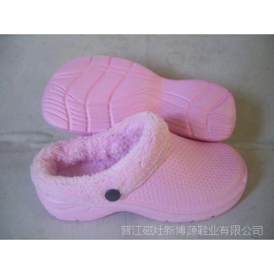 厂家供应 男式情侣棉鞋 冬季室内保暖棉鞋 女式防滑糖果色棉鞋
