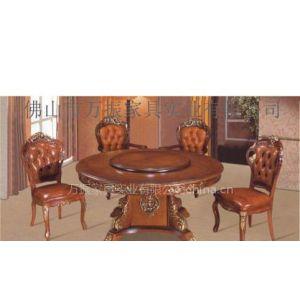 供应供应电动餐桌/高档古典实木家具