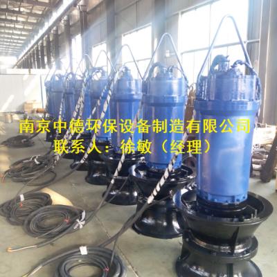 500ZQB-70潜水轴流泵,HQB潜水混流泵,低扬程,大流量场合