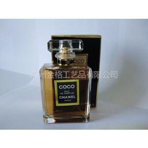 供应高档抛光香水瓶 高白料香水玻璃瓶50ML 广州香水瓶