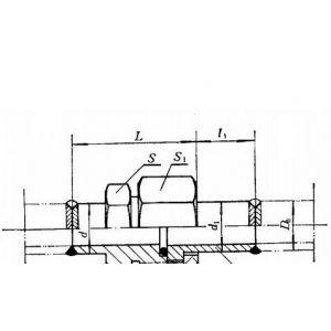供应JB 975-77焊接式隔壁直角管接头