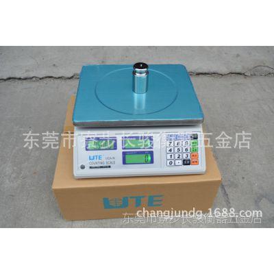 正品台湾联贸UTE工业高精电子称 UCA-N计数电子秤 30kg台式磅秤