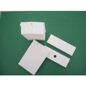 供应山东济南氧化铝陶瓷耐磨衬板,管道内衬