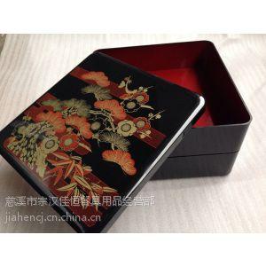 供应日式餐具三层日式便当盒/新款零食盒(19.5*19.5*17CM)寿司盒