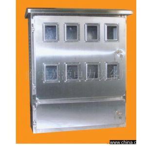 供应8户户外防水电表箱样品图