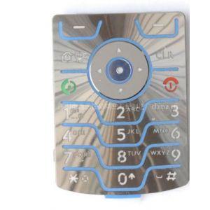 供应蚀刻手机按键(带CD纹点胶),手机面板
