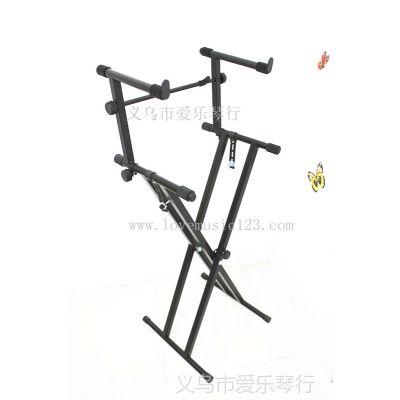 供应加高架 电子琴架 X型电子琴双层加高架 乐器配件批发