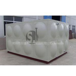 供应不锈钢装配式组合水箱选常州双健,外形美观,质量保证