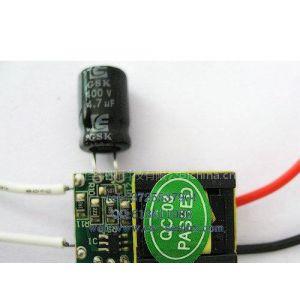 供应LED驱动电源品牌圣纳斯科技_3X1W_LED球泡灯电源