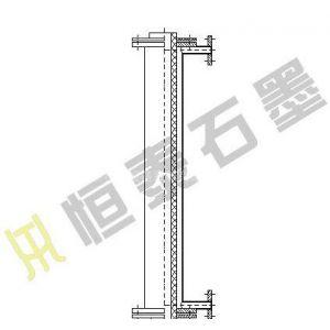 供应SGL型石墨管道冷却器