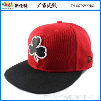 帽子工厂定制 韩版休闲运动情侣太阳帽 logo绣花平沿嘻哈街舞帽