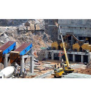供应碎石生产线客户现场
