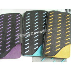 供应供应超纤面料手机超纤套硅胶印刷防滑加工