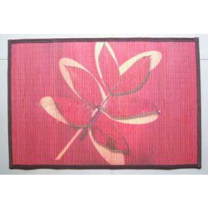 供应竹地垫印花,竹席印花彩印,其他木竹材料彩印