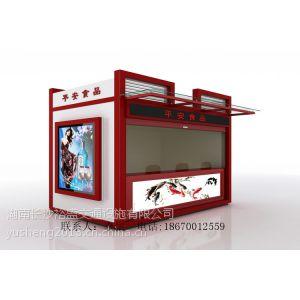 供应四川售货亭图片大全成都步行街美味小吃亭订做价格重庆售卖亭款式提供