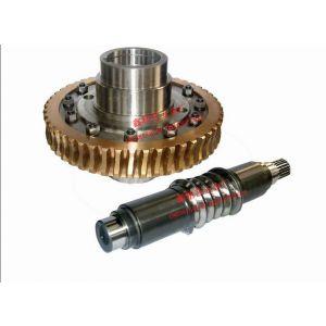供应非标蜗轮蜗杆/齿轮/ 蜗轮蜗杆专业加工(高精度)