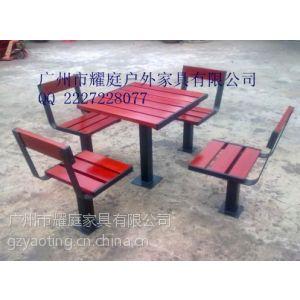 供应长沙房地产售楼处休息木桌椅带遮阳伞,厂家热卖新款防腐防水,进口木材制作