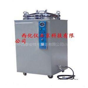 供应不锈钢压力蒸汽灭菌器/立式高压消毒锅 型号:ZX7M-C50L(外壳是喷塑碳钢,工作室是不锈钢)