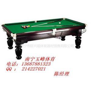 供应河池美式桌球台规格,巴马桌球台专卖店