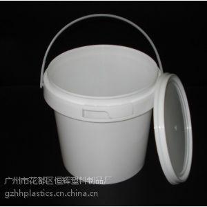 广州塑料桶厂家 供应1L透明塑料桶 蜂蜜桶 PP小桶 全新现货 批发