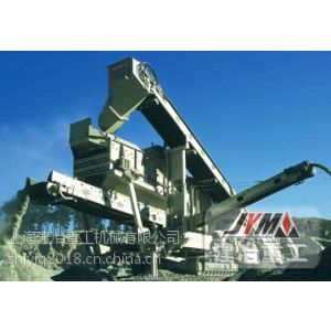 供应移动式破碎机 轮胎式移动破碎站 建筑垃圾处理设备 可移动式破碎机