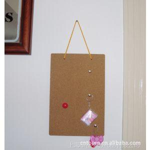 供应高质量软木留言板/磁性软木板