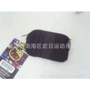 供应设计生产 运动拉链手机袋 高质量新款手机袋
