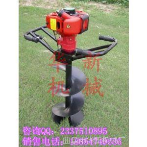 供应植树挖坑机 施肥挖坑机 果园立柱挖坑机 vs 曲阜华新机械