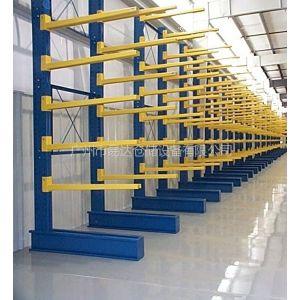 供应悬臂式货架 管材/水管/铝型材货架 易达厂专业定做