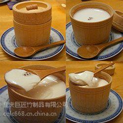 巨匠厂家定制日韩式环保竹盖酒店竹饭桶汤筒蒸饭竹器